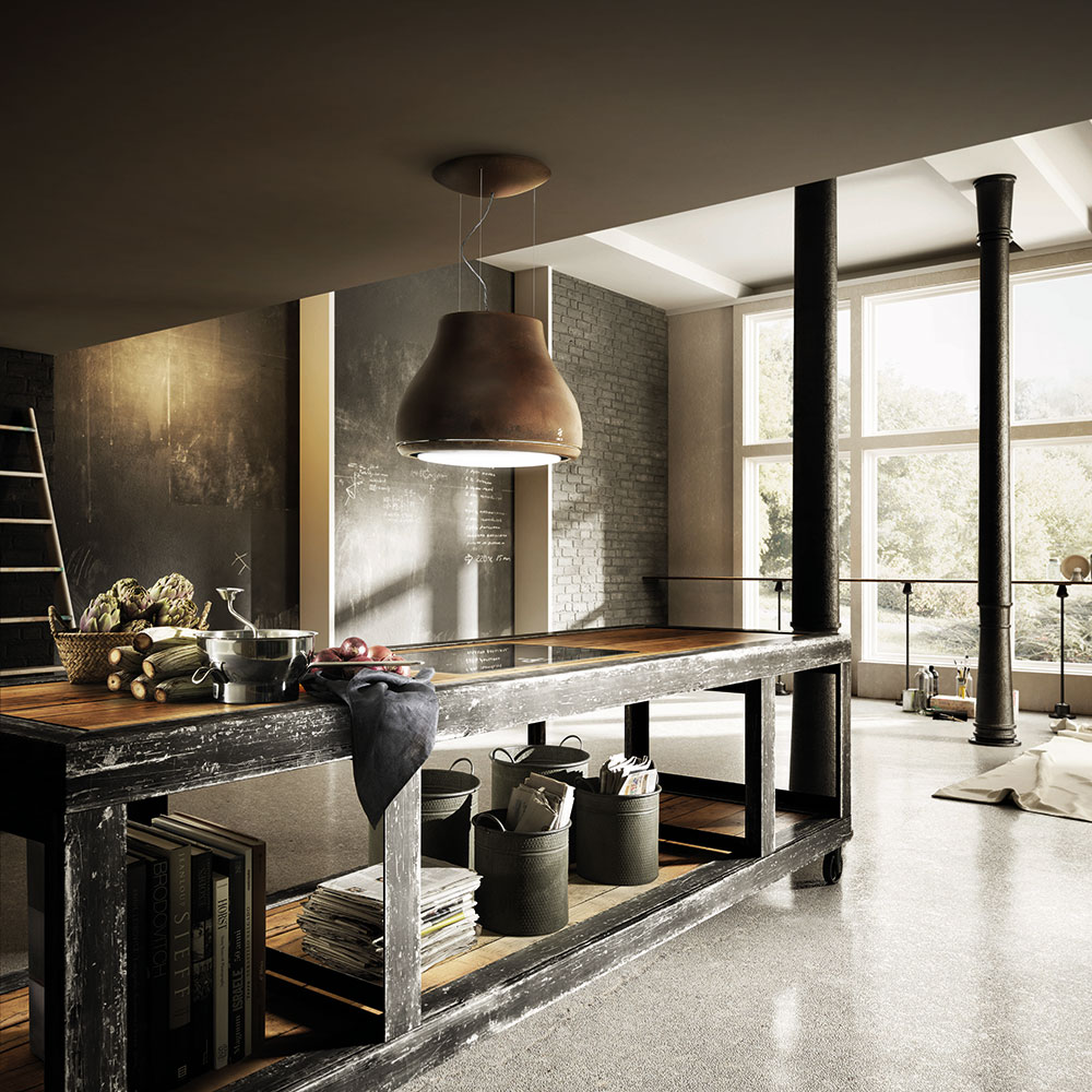 shining elica. Black Bedroom Furniture Sets. Home Design Ideas
