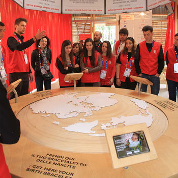 Elica and FEC @EXPO2015 with Save the Children