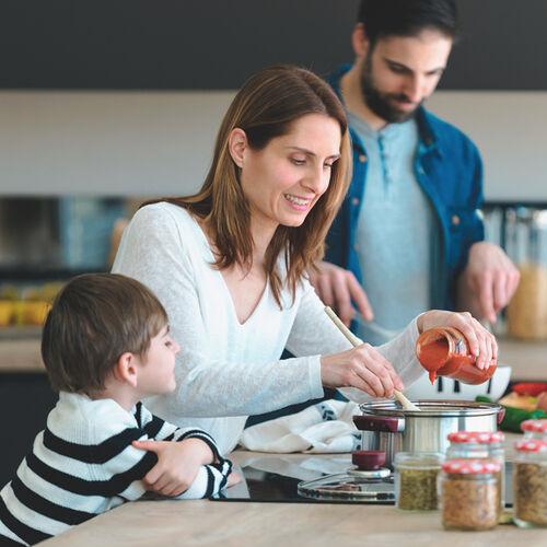 Cucinare per tutta la famiglia è un gioco da ragazzi