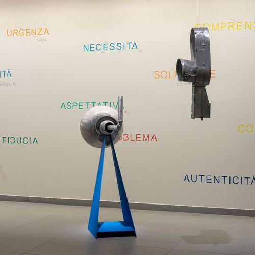 """Inaugurata l'opera """"Mass age, message, mess age (Elica 2018)"""" di Elena Mazzi"""