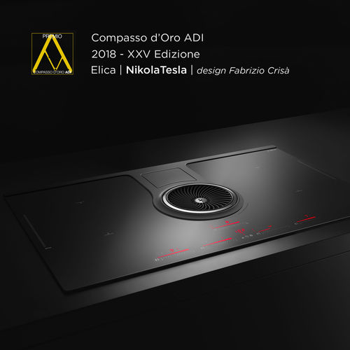 NikolaTesla by Elica wins the 25th Compasso d'Oro ADI, the world's most prestigious Italian design award