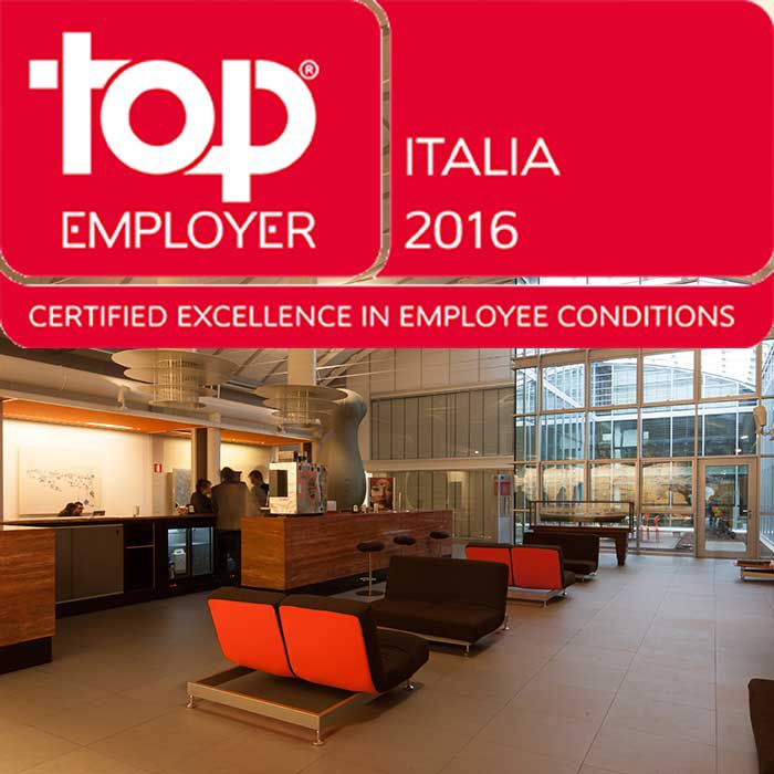 ELICA ONCE AGAIN PART OF TOP EMPLOYERS ITALIA