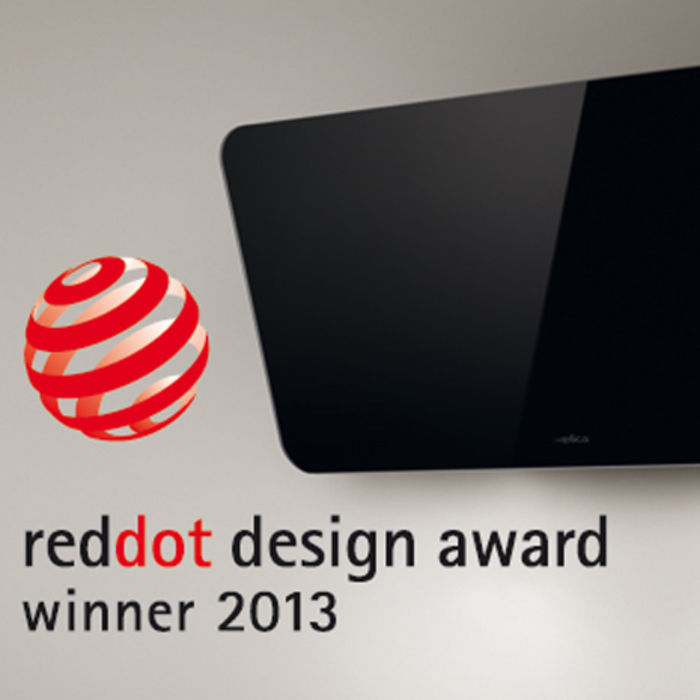 Simplicity's winning ways: Fantasia adds the 2013 Red dot Design Award to her collection!