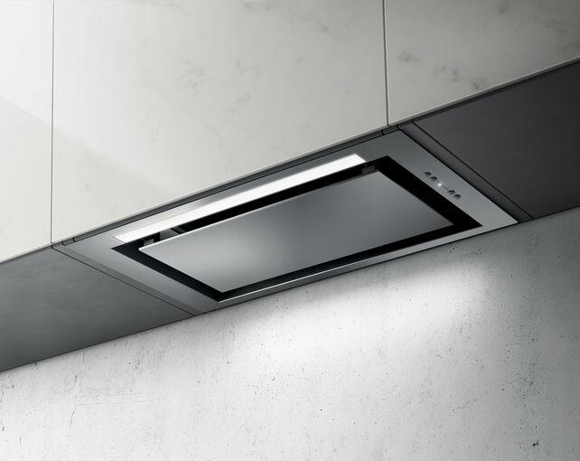 Elica Hidden drop in kitchen hood PRF0092333-Steel-Drop In 60cm