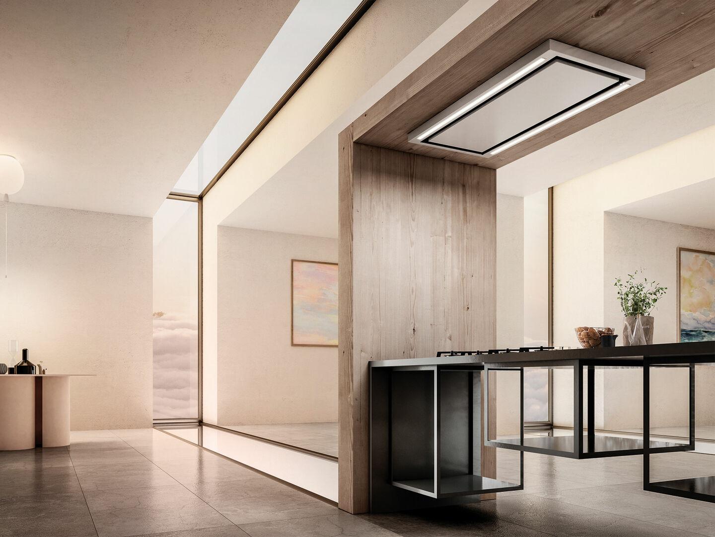 Tubo Per Cappa Cucina Design cappa soffitto cloud seven | elica