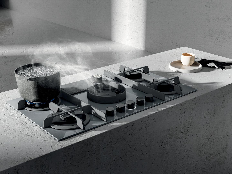 Elica kochfeld mit dunstabzug test nikolatesla flame elica